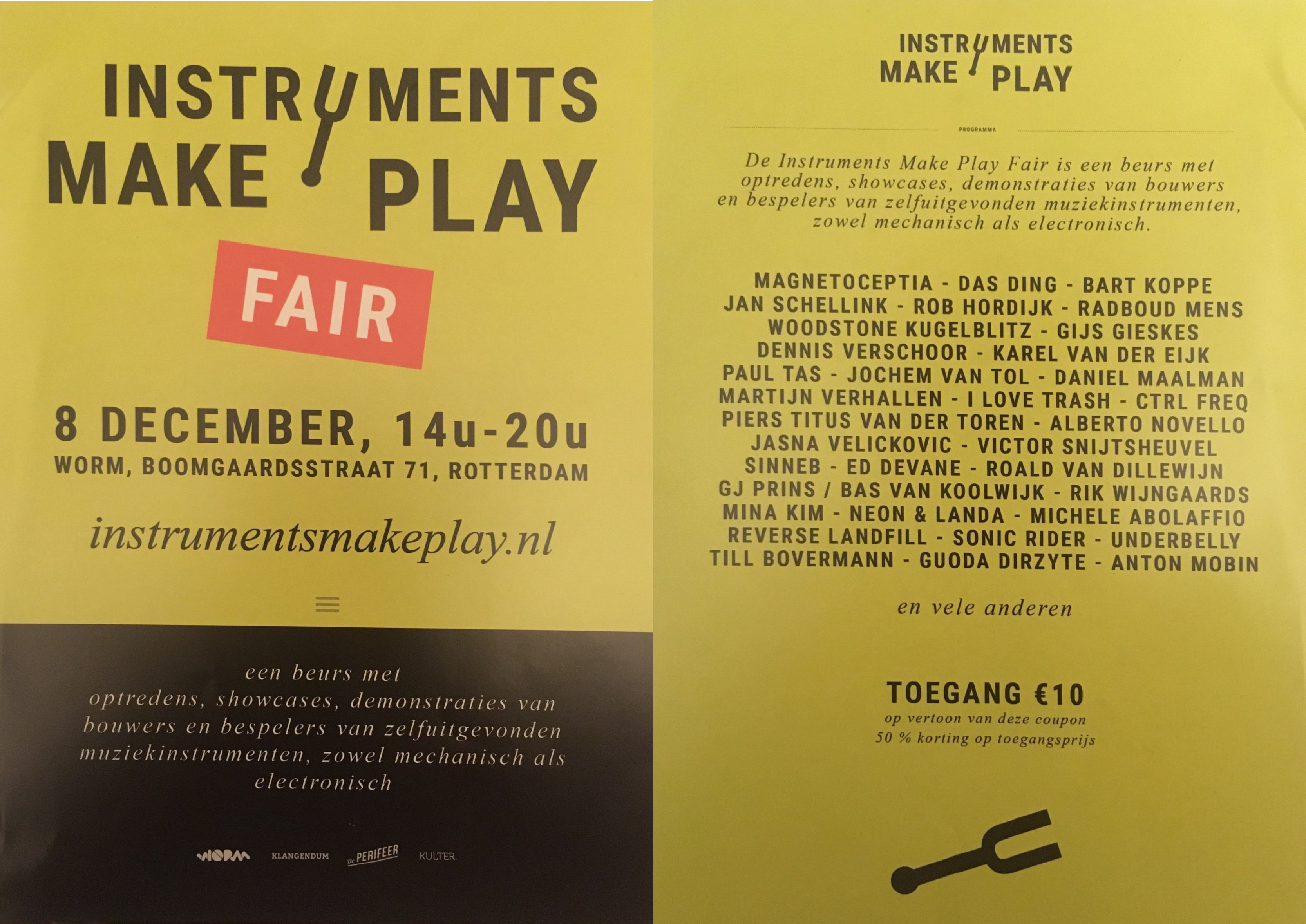 instruments make play fair poster
